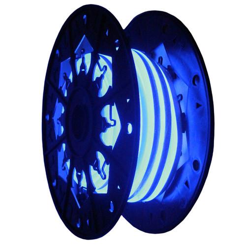 24v blue neon led rope light aqlighting aqlighting 24v blue led neon flexible dimmable single sided rope light aloadofball Images