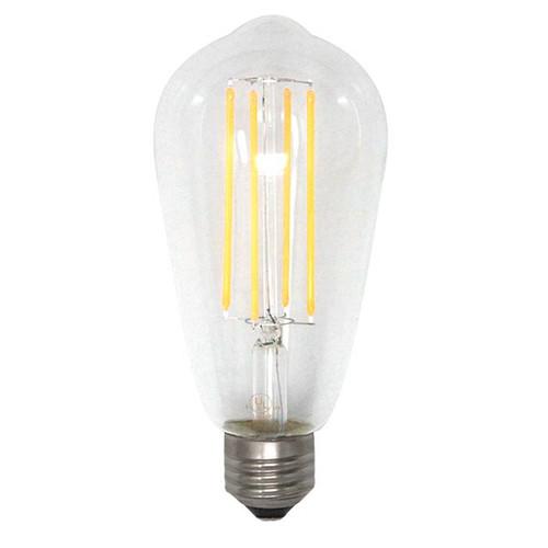 120V 5w Vintage Edison Style Filament LED ST19 Dimmable Warm White Light Bulb