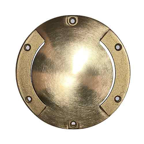 Raw Brass Bi-Directional Cast Brass Cover - PGAU999