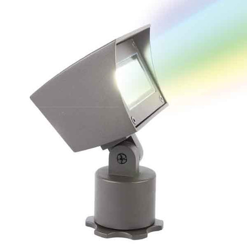 12V Color Changing RGB LED Wall Wash Bluetooth Brass Floodlight - 5021-CCBBR