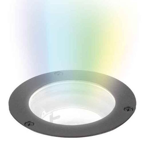 "12V 3"" Diameter Color Changing RGB LED Bluetooth In Ground Well Light - 5031-CC"