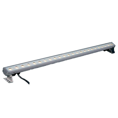 Metal Sign Gooseneck Light Granite Silver: Linear LED Wall Washer And Sign Light Fixture