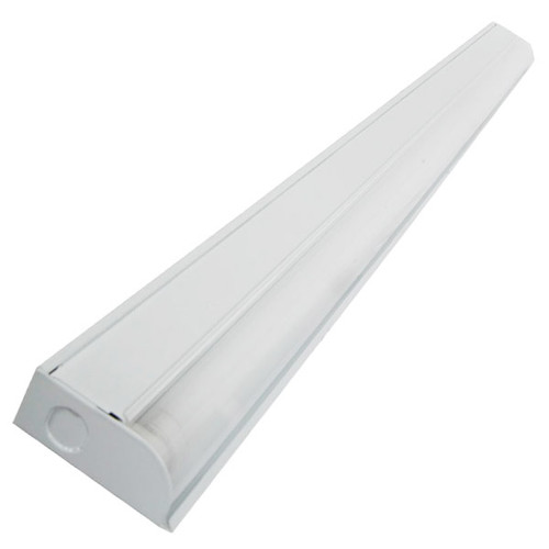 Slim design fluorescent under cabinet light bar aqlighting shown in white aloadofball Gallery