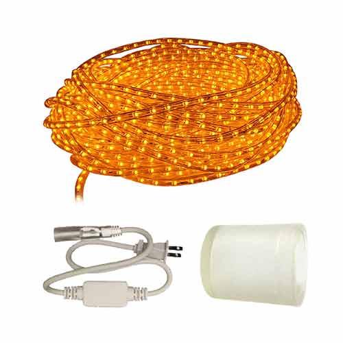 Custom length amber led rope light aqlighting aqlighting aloadofball Choice Image