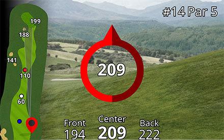Garmin approach z80 rangefinder plays like distance
