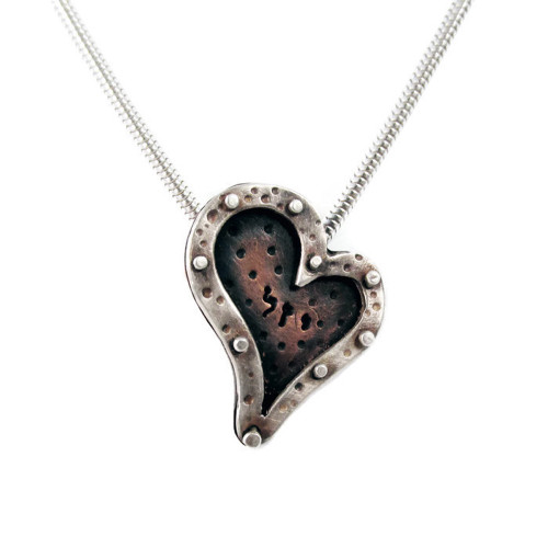 Heaven on Earth Heart Pendant Necklace