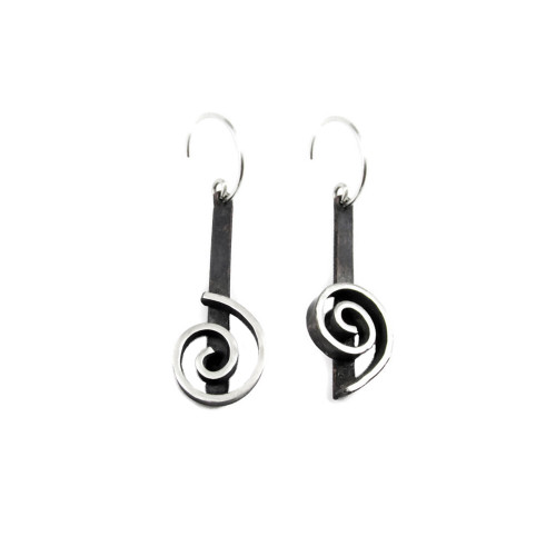 Don't Worry Spiral Earrings