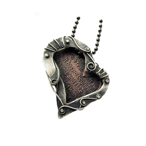 My Heart Statement Necklace