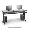 "Training Table / Classroom Desk 72"" W x 24"" D - Folkstone"