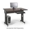 "Training Table / Classroom Desk 48"" W x 30"" D -African Mahogany"