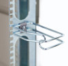 Picture shown with D-ring mounted on rail, comes mounted on mini-strut.