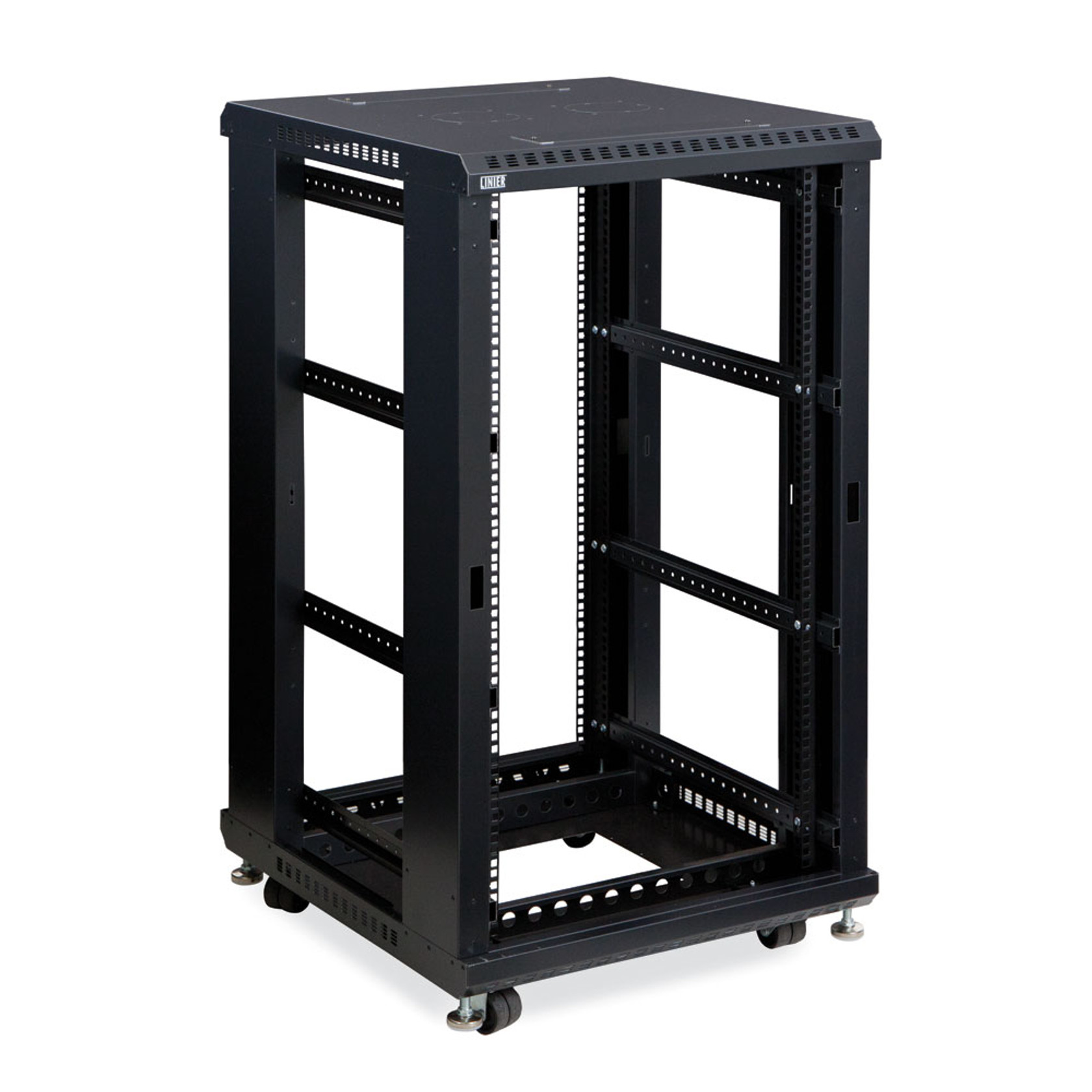 22U LINIER Server Cabinet Open Frame No Doors 24  Depth 19u201d Rack  sc 1 st  Gaw Technology & KENDALL HOWARD u0026reg; | 4-Post Open Frame Server Racks | GAW Technologies