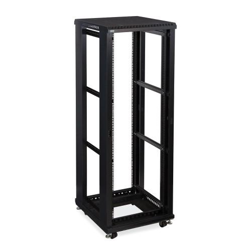 """37U LINIER Server Cabinet, Open Frame No Doors 24"""" Depth, 19"""" Rack Mount"""
