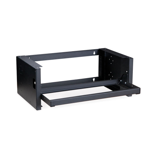 4U Pivot Frame Wall Mount Rack, Rack Mount Area Swings Down