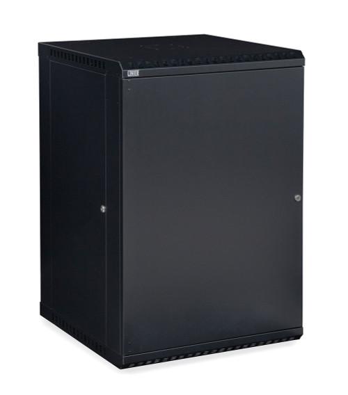 18U LINIER Fixed Wall Mount Cabinet With  Solid Door