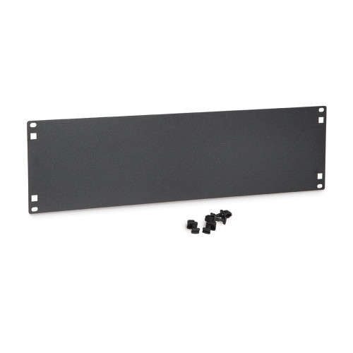 3U Flat Filler Panels / Spacer Blank with Tooless Mounting Clips