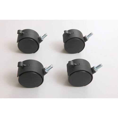 Caster Kit for Training Tables (4 Locking Casters)