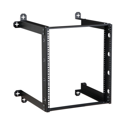 "12U V-Line Wall Mount Rack - 18"" Depth, Open frame"