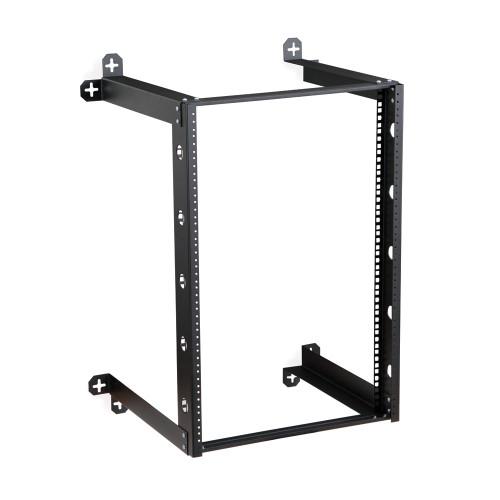 """16U V-Line Wall Mount Rack - 18"""" Depth, Open frame"""