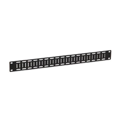 1U Flat Cable Lacing Panel