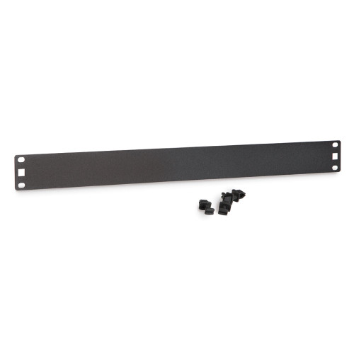 1U Flat Filler Panels / Spacer Blank with Tooless Mounting Clips