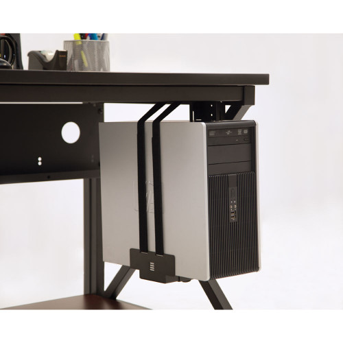 Adjustable CPU Holder with Multiple Mounting Options