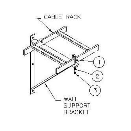 Triangle Wall Mount Bracket