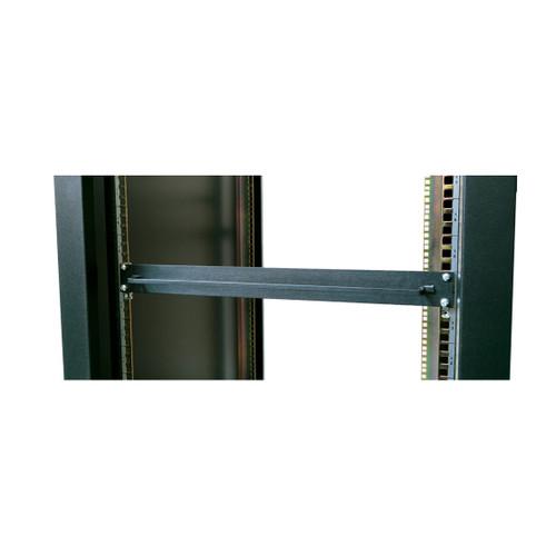 """19"""" rack mount x 1u high filler panel with towel bar"""