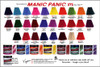 Manic Panic High Voltage Classic Cream Hair Color Chart