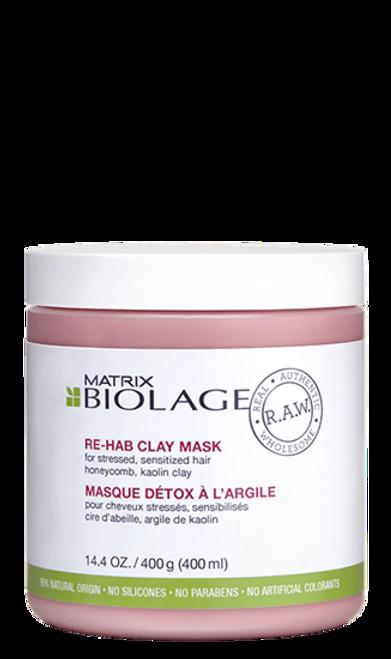 R.A.W. Re-Hab Clay Mask