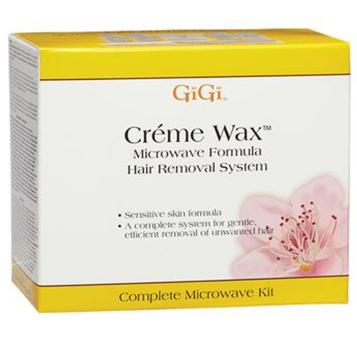 GiGi Creme Wax Microwave Kit