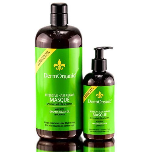 DermOrganic Intensive Masque Hair Repair Deep Conditioner