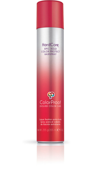 ColorProof SuperPlump HardCore Epic Hold Color Protect Hairspray