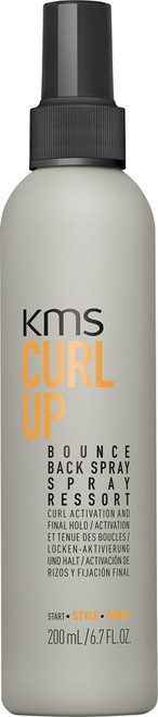 KMS Curl Up Bounce Back Firm Hold Spray