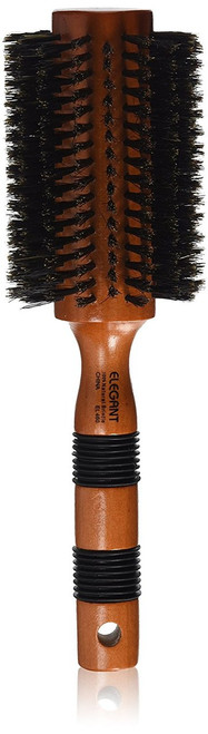 Elegant Round Boar Bristle Brush Large