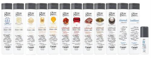 Celeb Luxury Gem Lites Colorwash Color Depositing Shampoos