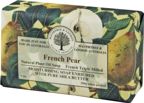 Wavertree & London French Pear French Milled Australian Natural Soap
