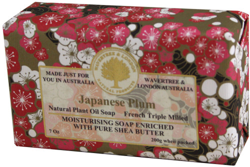 Wavertree & London Japanese Plum French Milled Australian Natural Soap