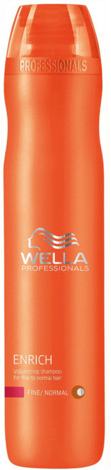 Wella Enrich Volumizing Shampoo for Fine to Normal Hair