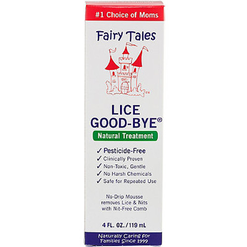 Fairy Tales Lice Good-Bye No Drip Mousse Lice Treatment