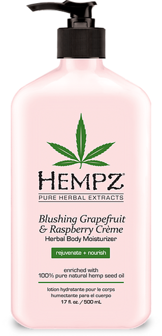 Hempz Blushing Grapefruit and Raspberry Creme Herbal Body Moisturizer