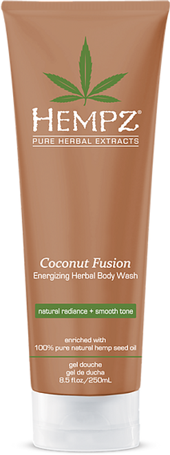 Hempz Coconut Fusion Energizing Herbal Body Wash