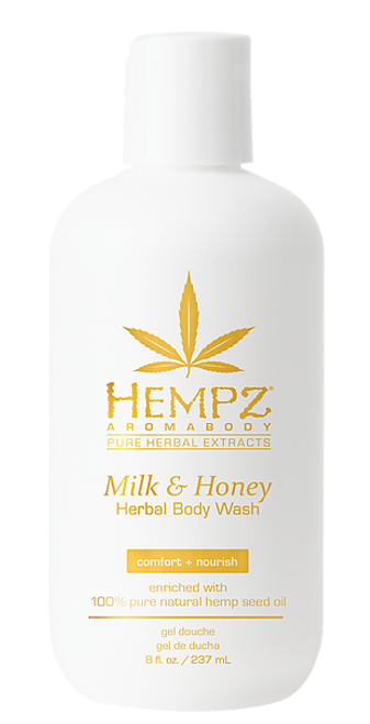 Hempz Milk & Honey Aromabody Herbal Body Wash