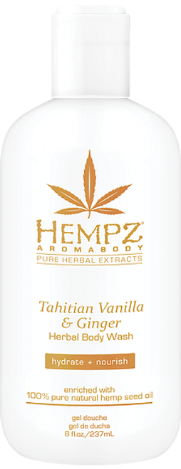 Hempz Tahitian Vanilla & Ginger Aromabody Herbal Body Wash