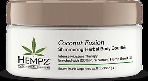 Hempz Coconut Fusion Shimmering Herbal Body Soufflé
