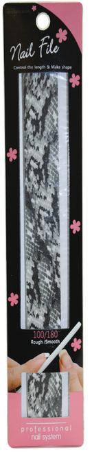 Glossy Blossom Nail File 100/180 Grit Anaconda