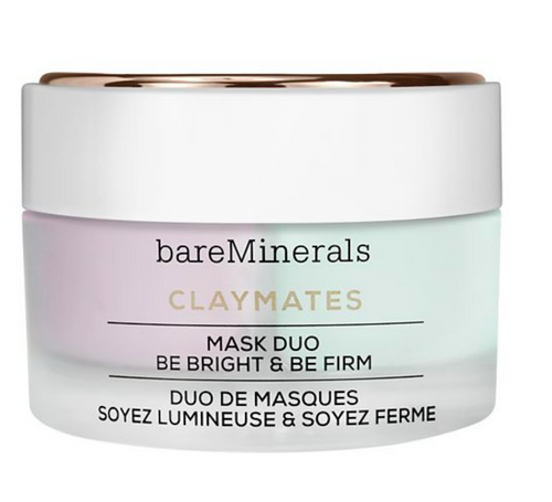 bareMinerals ClayMates Be Bright and Be Firm Face Mask Duo