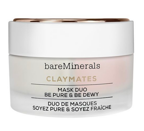 bareMinerals ClayMates Be Pure and Be Dewy Face Mask Duo