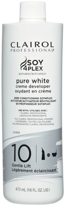 clairol pure white 10 vol developer