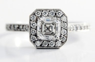Asscher Cut Diamonds Assessment Chart Guide In-depth Information